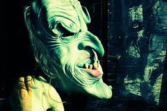 tête de monstre